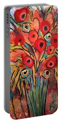 Poppy Fest Portable Battery Charger