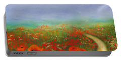 Poppy Field Impressions Portable Battery Charger