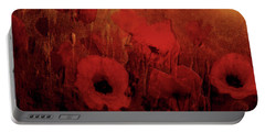 Poppy Heaven Portable Battery Charger