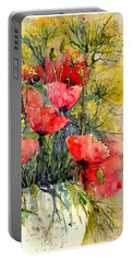 Poppy Impression Portable Battery Charger