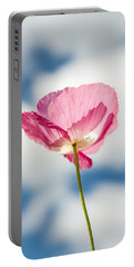 Poppy In The Clouds Portable Battery Charger