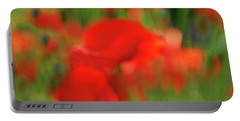 Poppy Scape Portable Battery Charger