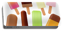 Popsicles Ice Lolly Set Loosely Arranged Portable Battery Charger