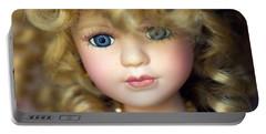 Porcelain Doll Portable Battery Charger by Joseph Skompski