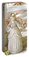 Porch Angel In The Fall Portable Battery Charger