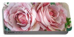 Porch Roses Portable Battery Charger