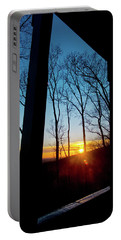 Porch Sunset Portable Battery Charger