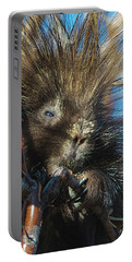 Portable Battery Charger featuring the photograph Porcupine by Norman Hall