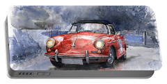 Porsche 356 B Roadster Portable Battery Charger