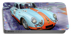 Porsche 356 Gulf Portable Battery Charger