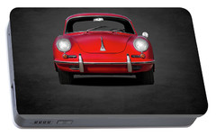 Porsche 356 Portable Battery Charger by Mark Rogan