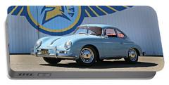 Porsche 356a True Blue Portable Battery Charger
