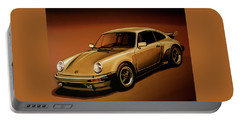 Porsche 911 Turbo 1976 Painting Portable Battery Charger