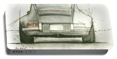 Porsche 911 Rs Portable Battery Charger