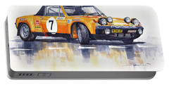 Porsche 914-6 Gt Rally Portable Battery Charger
