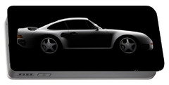 Porsche 959 - Side View Portable Battery Charger