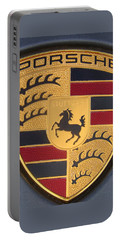 Porsche Emblem Portable Battery Charger
