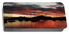 Port Denarau Fiji At Sunrise Portable Battery Charger