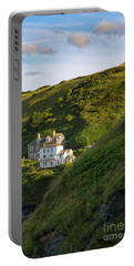 Portable Battery Charger featuring the photograph Port Isaac Homes by Brian Jannsen