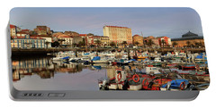 Portable Battery Charger featuring the photograph Port Of Ferrol Galicia Spain by Pablo Avanzini
