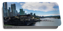 Portable Battery Charger featuring the photograph Port Of Vancouver by Ed Clark