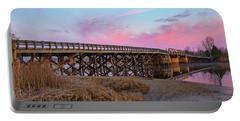 Portable Battery Charger featuring the photograph Port Republic Nacote Creek Bridge by Kristia Adams