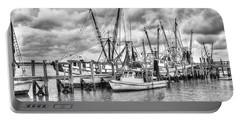 Port Royal Docks Portable Battery Charger by Scott Hansen