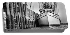 Port Royal - Miss Sandra Portable Battery Charger by Scott Hansen