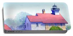 Port Washington Lighthouse Portable Battery Charger