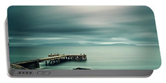 Portencross Pier Portable Battery Charger by Ian Good
