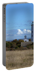 Portable Battery Charger featuring the photograph Portland Bird Observatory by Baggieoldboy