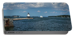 Portland Harbor, Maine Portable Battery Charger