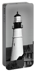 Portland Head Light No. 103-1 Portable Battery Charger by Sandy Taylor