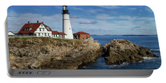 Portland Head Light Portable Battery Charger