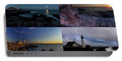 Portland Head Light Day Or Night Portable Battery Charger