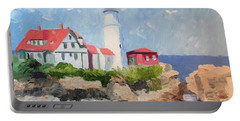 Portland Headlight By The Sea Portable Battery Charger