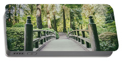 Portland Japanese Garden Bridge Portable Battery Charger
