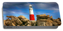 Portland Lighthouse, Uk Portable Battery Charger by Chris Smith