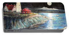 Portland Maine Twilight Portable Battery Charger