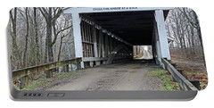 Portland Mills Covered Bridge Indiana Portable Battery Charger