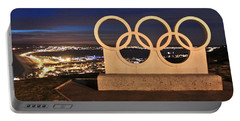 Portland Olympic Rings Portable Battery Charger