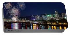 Portland Rose Festival 2017 Fireworks Portable Battery Charger