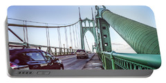 Portland Saint Johns Bridge Portable Battery Charger