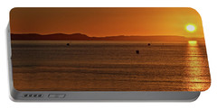 Portable Battery Charger featuring the photograph Portland Sunrise by Baggieoldboy