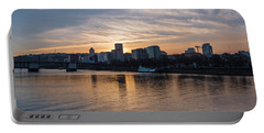 Portland Sunset Portable Battery Charger