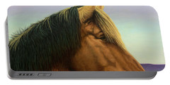 Portrait Of A Horse Portable Battery Charger