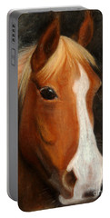 Portrait Of A Horse Portable Battery Charger by Jasna Dragun