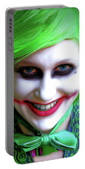 Portrait Of A Joker Portable Battery Charger