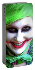Portrait Of A Joker Portable Battery Charger