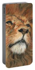 Portrait Of A Lion Portable Battery Charger